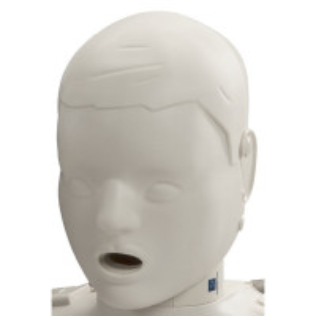Prestan Child / Pediatric Manikin Head Assembly - Light Skin - RPP-CHEAD-1