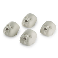 Replacement Faces for Prestan Infant / Baby Manikins - 4 Pack - Light Skin - RPP-IFACE-4
