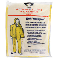2 Piece Rain Suit Heavy Duty PVC - SH88B