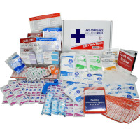 Bulk First Aid Kit Refill, 197 Pieces, ANSI B, 50 Person, URG-3685