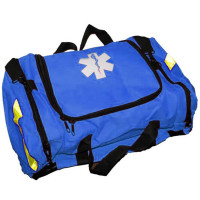 Empty First Responder Bag w/ Rigid Foam Insert - Blue - URG-410050F
