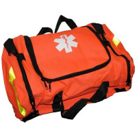 Empty First Responder Bag w/ Rigid Foam Insert - Orange - URG-410051F
