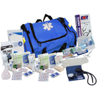 First Responder Kit - 151 Pieces - Blue - URG-999207N