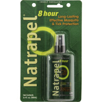 Containing CDC recommended (20%) Picaridin Natrapel 8-hour 3.4oz Pump wards off mosquitoes and other biting and stinging insects.