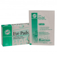 Eye Pads with Adhesive Strips, 4 Per Box, 0270