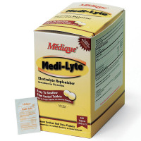 Medi-Lyte Electrolyte Tablets in a convenient Dispenser box (500 tablets/box)