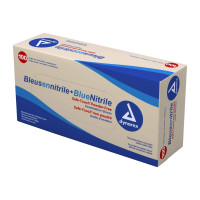 Powder Free Nitrile Gloves - Large - 100 Per Box - 1200064