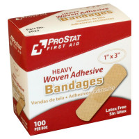 "Heavy Woven 1"" x 3"" Bandage, 100/BX, 2022"