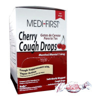 Cherry Cough Drops - 125 Per Box - 81525