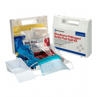Bloodborne Pathogen and Bodily Fluid Spill Kit - 24 Pieces - Plastic - 214-U/FAO