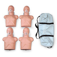 Economy Adult Sani-Manikin w/ Carry Bag - 4 Pack - 2145