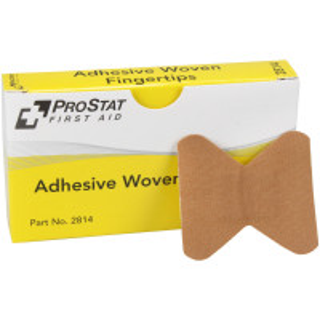 Fingertip Adhesive Bandages, Woven, 8 per box, 2814