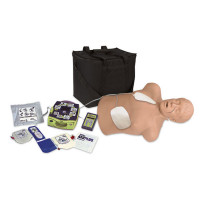 Zoll Automated External Defibrillator Trainer Package with CPR Brad Manikin - 2830