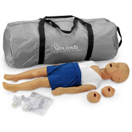 Kyle 3 Year Old CPR Manikin - Caucasian - 2951