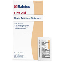 First aid to help prevent infection in minor cuts, scrapes, and burns