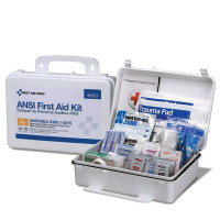 25 Person First Aid Kit, ANSI A+, Plastic Case  - 90563