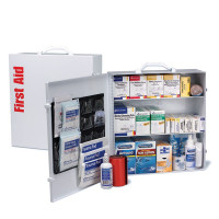 3 Shelf First Aid ANSI B+ Metal Cabinet, with Meds - 90575