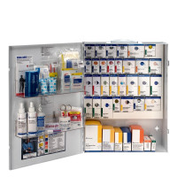 XL Metal Smart Compliance General Business First Aid Cabinet without Meds, 90829