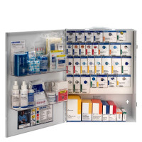 XL Metal Smart Compliance Food Service First Aid Cabinet without Meds, 90831