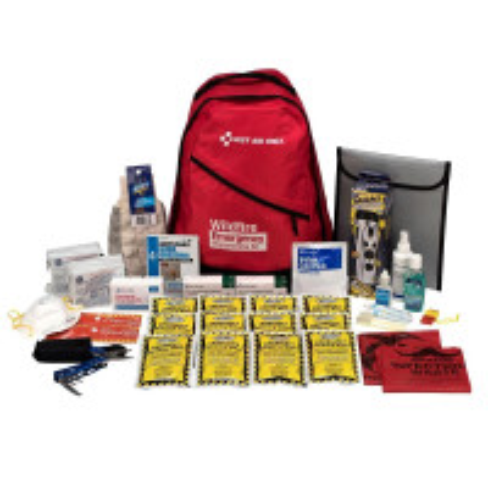 2 Person Emergency Preparedness Backpack Wildfire, 91058