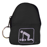 CPR Black Beltloop/KeyChain BackPack - 911CPR-BKK