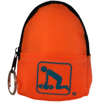 CPR Orange Belt/KeyChain BackPack - 911CPR-HOK