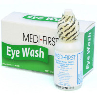 Eye Wash - Plastic Bottle - 1 ounce - 1 Per Box, B5010