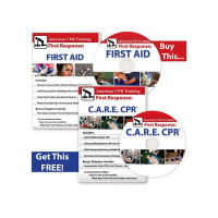 BOGO: The First Aid Video + C.A.R.E.™ CPR DVDs - BFAVID-DVD-PLUS