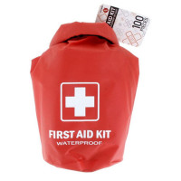 All Purpose First Aid Kit, Waterproof Dry Sack, Red, 100 Pieces, FA100-EA
