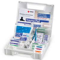 All Purpose First Aid Kit, 200 Pieces - Large - FAO-134