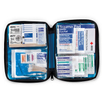 All Purpose First Aid Kit, soft bag, 131 Pieces - Medium - FAO-428