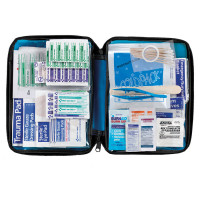 All Purpose First Aid Kit, soft bag, 200 Pieces - Medium - FAO-432