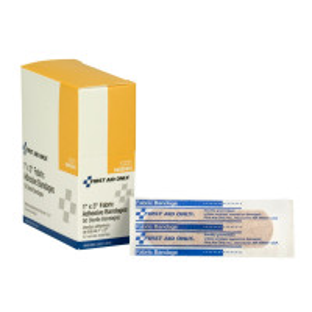 Adhesive Bandage, Fabric 1 inch - 50 Per Box - G121
