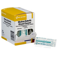 Butterfly Wound Closure, Medium - 100 Per Box - G135