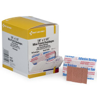 Patch Bandage, Heavy Woven Mini - 50 Per Box - G159