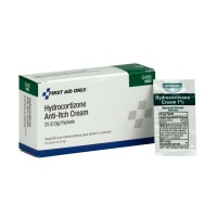 Hydrocortisone cream for relief of minor skin irritations, itching and rashes.