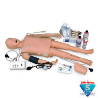 Deluxe Child / Pediatric CRiSis Manikin with Arrhythmia Tutor - LF03617U