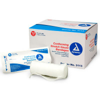 Conforming Gauze Roll Bandage, Sterile 3 inch - 12 Per Bag - M219-12