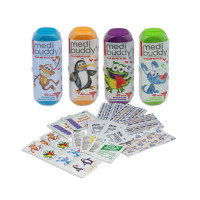 Case of 8 MediBuddy 4 Kidz-Kid Friendly First Aid Items - M4K-1004