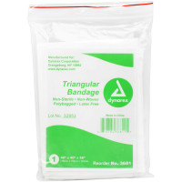 Triangular Sling/Bandage w/ 2 Safety Pins - 1 Each - M526