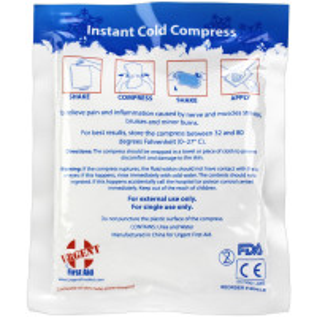 Instant Cold Compress, 4 inch x 5 inch - 1 Each - M563-E