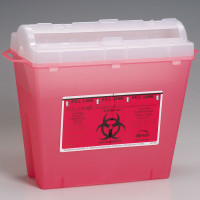 Sharps Container, 5 Quart - M943
