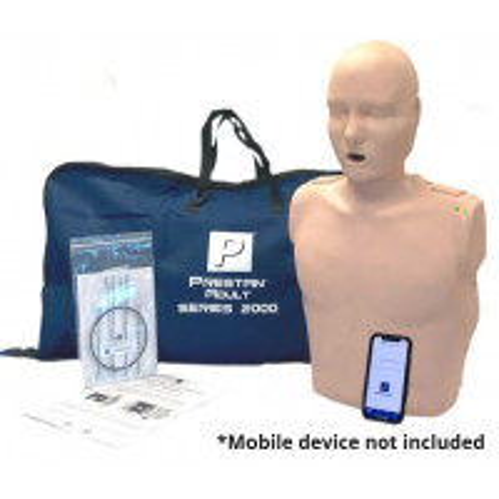 PRESTAN Professional Adult Series 2000 CPR Training Manikins, Medium Skin, PP-AM-2000-1-MS