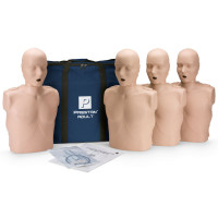 Prestan Adult CPR Manikin w/o Monitor - 4 Pack - Medium Skin - PP-AM-400-MS