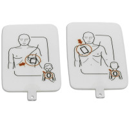 Prestan Professional AED UltraTrainer Pads, 1 Set, PP-UTPAD-1