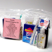 13 Piece Personal Hygiene Kit (Female) - PP44F-KT