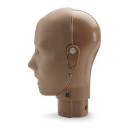 Prestan Adult Manikin Head Assembly - Dark Skin - RPP-AHEAD-1-DS