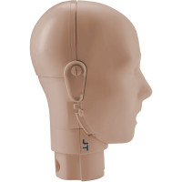 Prestan Adult Manikin Head Assembly - Medium Skin - RPP-AHEAD-1-MS