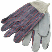 Work Gloves Leather Palm - T002