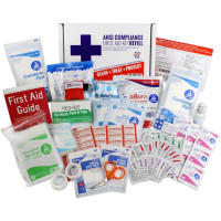 Bulk First Aid Kit Refill, 73 Pieces, ANSI A, 25 Person, URG-3682